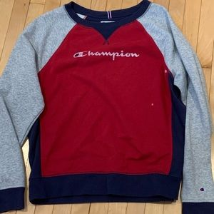 Champion Colorblock Sweatshirt